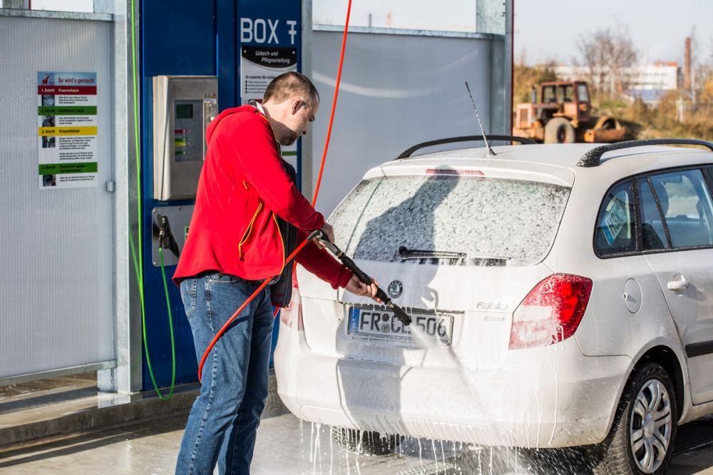 car wash auto waschen in freiburg carwashpark freiburg. Black Bedroom Furniture Sets. Home Design Ideas
